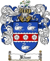 Pay for River Family Crest  River Coat of Arms