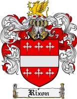 Pay for Rixon Family Crest  Rixon Coat of Arms