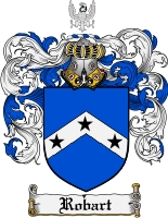 Pay for Robart Family Crest  Robart Coat of Arms