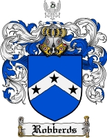 Pay for Robberds Family Crest  Robberds Coat of Arms