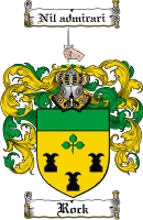 Pay for Rock Family Crest  Rock Coat of Arms