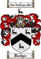 Pay for Rodger Family Crest  Rodger Coat of Arms