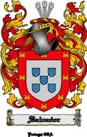 Pay for Salvador Family Crest  Salvador Coat of Arms Digital Download