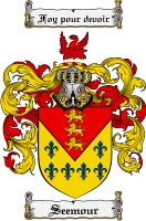Pay for Seemour Family Crest  Seemour Coat of Arms