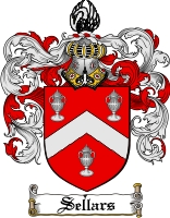 Pay for Sellars Family Crest  Sellars Coat of Arms