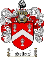 Pay for Sellers Family Crest  Sellers Coat of Arms