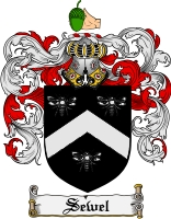 Pay for Sewel Family Crest  Sewel Coat of Arms