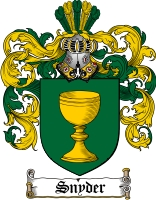 Pay for Snyder Family Crest / Snyder Coat of Arms