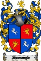 Pay for Sponaugle Family Crest  Sponaugle Coat of Arms Digital Download