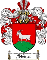 Pay for Steiner Family Crest  Steiner Coat of Arms