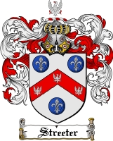 Pay for Streeter Family Crest  Streeter Coat of Arms