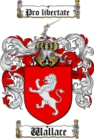 Pay for Wallace Family Crest / Wallace Coat of Arms