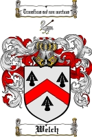Pay for Welch Family Crest  Welch Coat of Arms