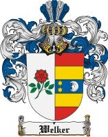 Pay for Welker Family Crest  Welker Coat of Arms