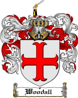 Pay for Woodall Family Crest  Woodall Coat of Arms