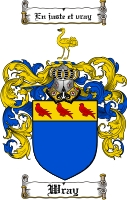 Pay for Wray Family Crest  Wray Coat of Arms