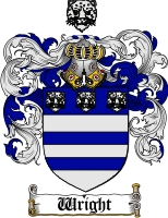 Pay for Wright Family Crest / Wright Coat of Arms