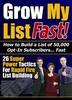 Thumbnail **New**Grow My List Fast