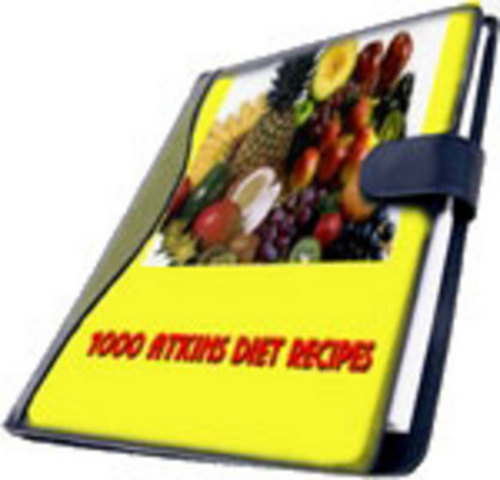 Pay for 1000 atkins diet recipes with mrr/ resell rights