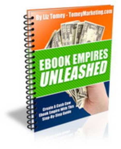 Pay for **New** Ebook Empires Unleashed - Create A Cash Cow Ebook ..