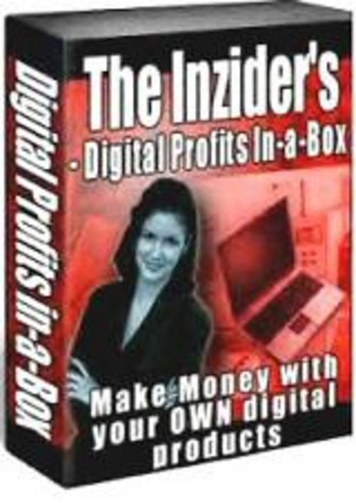 Pay for *New* The Inziders Digital Profits In A Box Make Money 2011