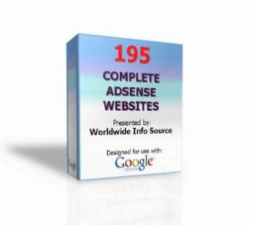 Pay for 195 AdSense Websites With Master Resale Rights 2011