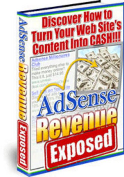 Pay for *NEW* AdSense Revenue Exposed + resell rights w/mrr 2011