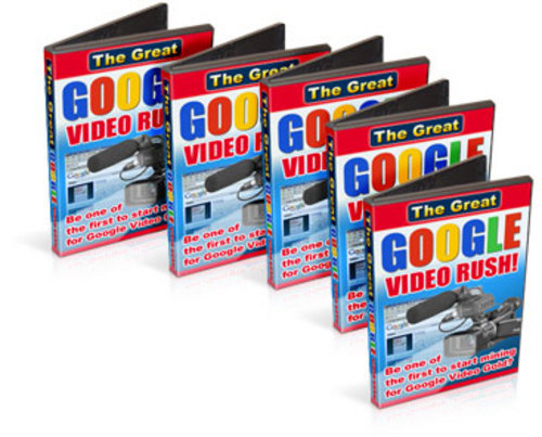 Pay for *NEW* The Great Google Video Rush With Resale Rights 2011