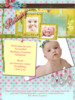 Thumbnail Shabby Chic Baby Birth Online Announcement