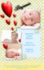 Thumbnail Love Hearts Birth Announcement