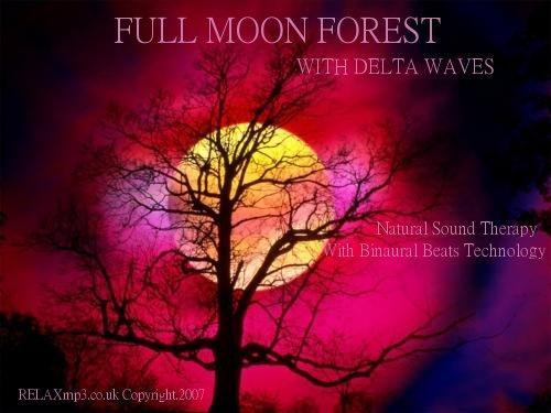 HALLOWEEN FOREST SOUNDS BINAURAL BEATS MP3 MEDITATION