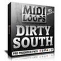 Thumbnail Dirty South MIDI Loops - Strings Leads Pads Keys