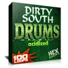 Thumbnail Dirty South 100 Drums Loops Download