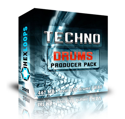 Pay for TECHNO DRUMS KIT - BIG Producer PACK