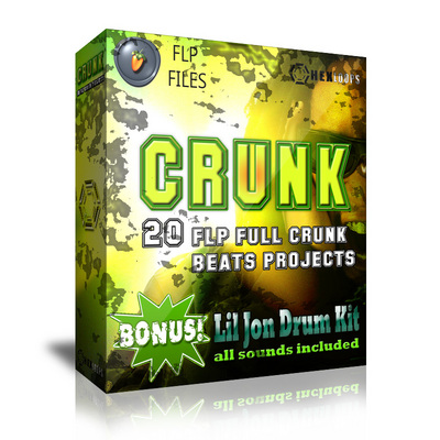 Pay for Crunk 20 FLP Projects Full Lil Jon Drum Kit Download