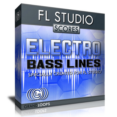 Electro and Electronic Bass Lines FL Studio Scores