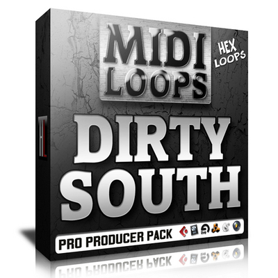 Pay for Dirty South MIDI Loops - Strings Leads Pads Keys