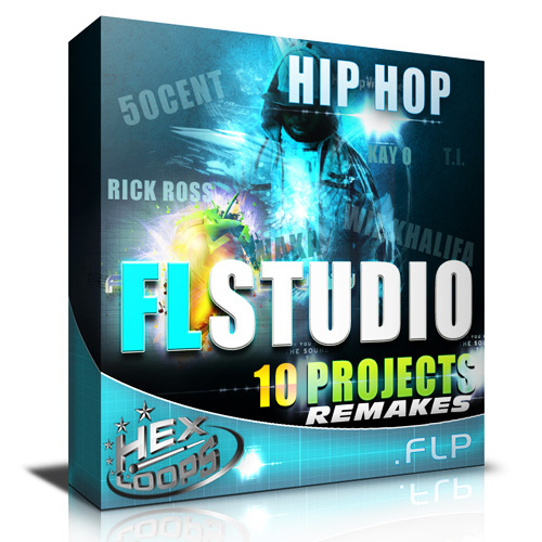 Pay for Hip Hop 10 FLP Studio Beats Projects Remakes Download