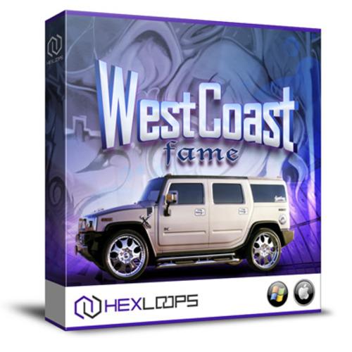 Pay for West Coast Fame Hip Hop Loops Samples MIDI Wav