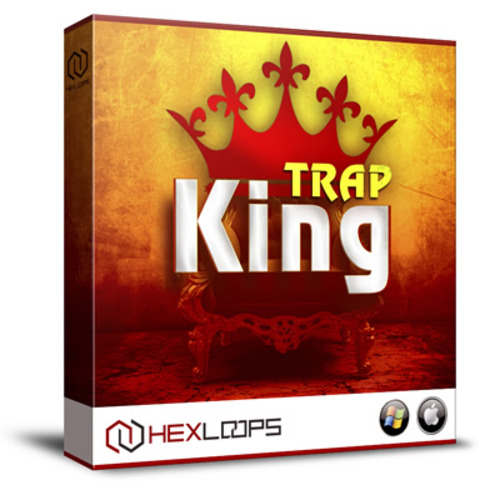 Pay for Trap King 5 Kits Loops Hip Hop Beats Wav Midi Flp