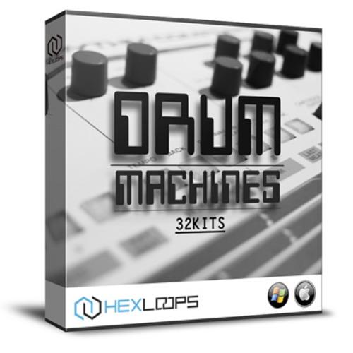 Machine Drum Hits 32 Drum Kits - Roland Korg Yamaha Kawai