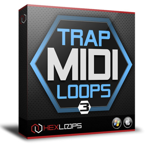 Pay for Trap MIDI Loops Vol 3 - MIDI Files and Patterns Pack