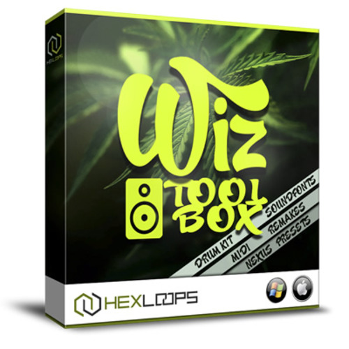 Pay for Wiz Toolbox - Wiz Khalifa Drum Kit, Sample Pack