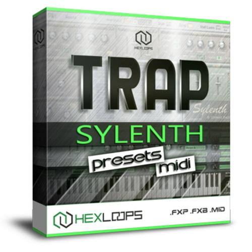 Trap Sylenth1 FXP Presets, FXB Bank, MIDI Loops