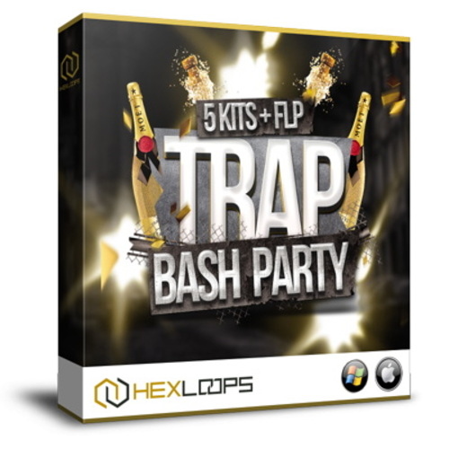 Pay for Trap Bash Party - Trap Construction Kits, Loops, MIDI, FLP