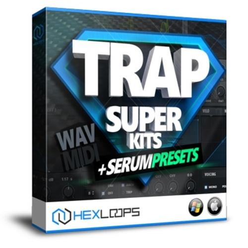 Pay for Trap Super Kits - Wav, MIDI, Serum Presets