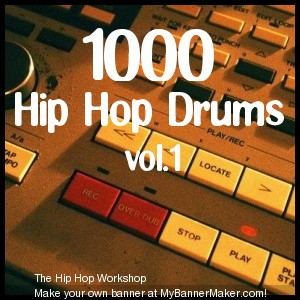 Pay for 1000 Hip Hop Drums vol.1