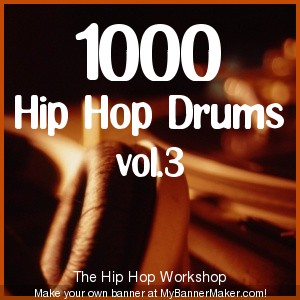 Pay for 1000 Hip Hop Drums vol.3