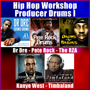 Pay for Hip Hop Workshop Producer Drums I