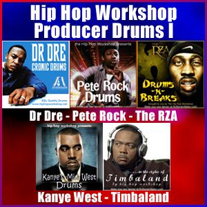 Pay for Hip Hop Workshop Producer Drums I